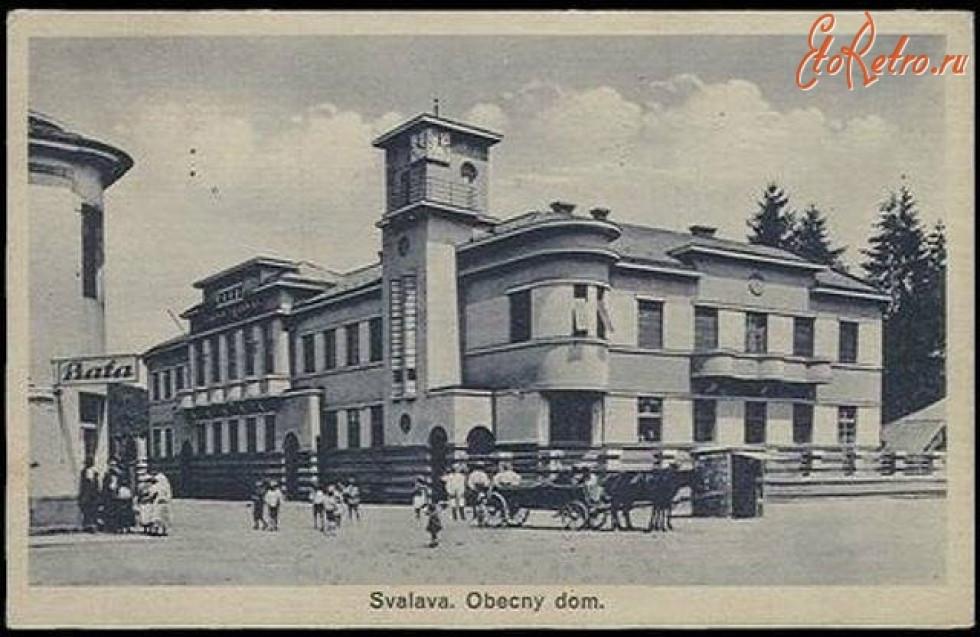 Свалява. 1910-1938 роки