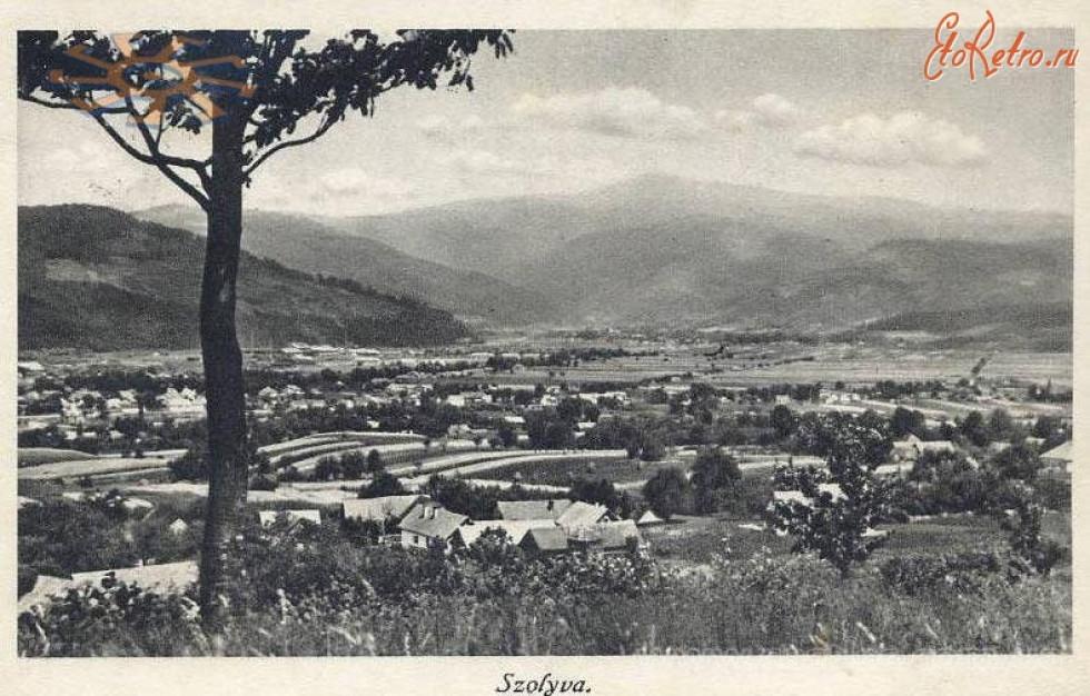 Свалява. Панорама. 1910-1938 роки