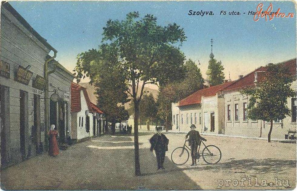 Свалява. 1900-1930 роки